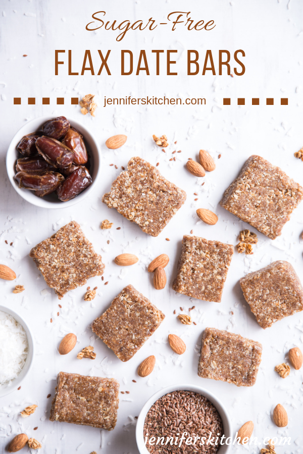 Healthy Energy Bars with Omega 3