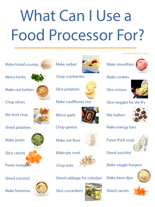 How to use a food-processor