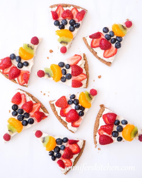 Fruit-Pizza-Healthy Breakfast Ideas