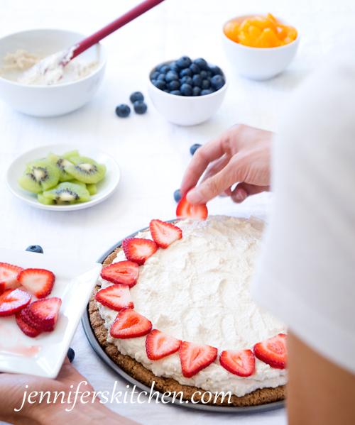 Fruit-Pizza- Healthy Breakfast Ideas