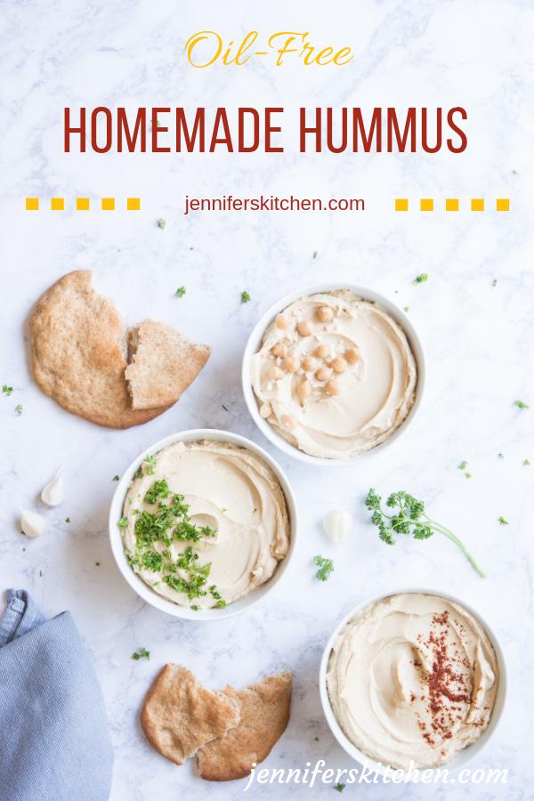 Healthy Oil-Free Hummus Recipe