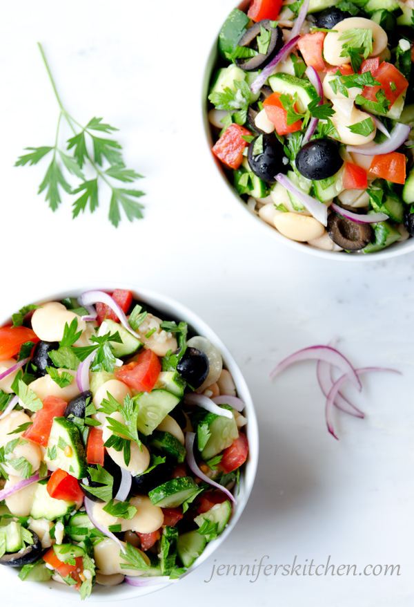 Italian Butter Bean Salad