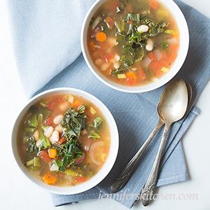 Kale-White-Bean-Soup Vegan Gluten Free