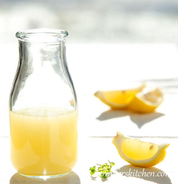 lemon juice vs vinegar