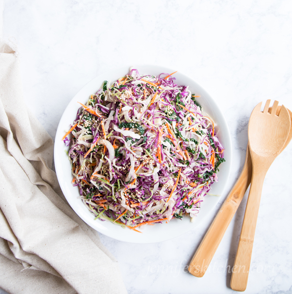 Vegan Cabbage Salad