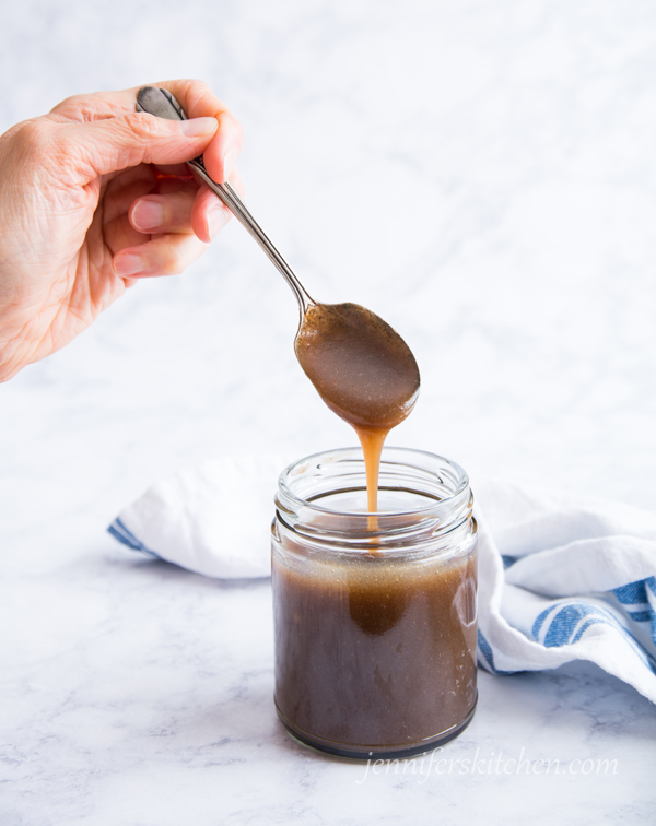 Healthy pancake syrup