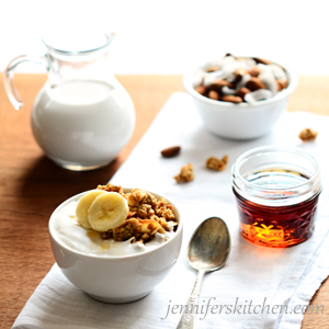 Maple-Nut-Granola