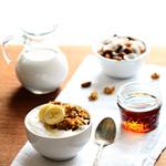 Healthy Maple Nut Granola