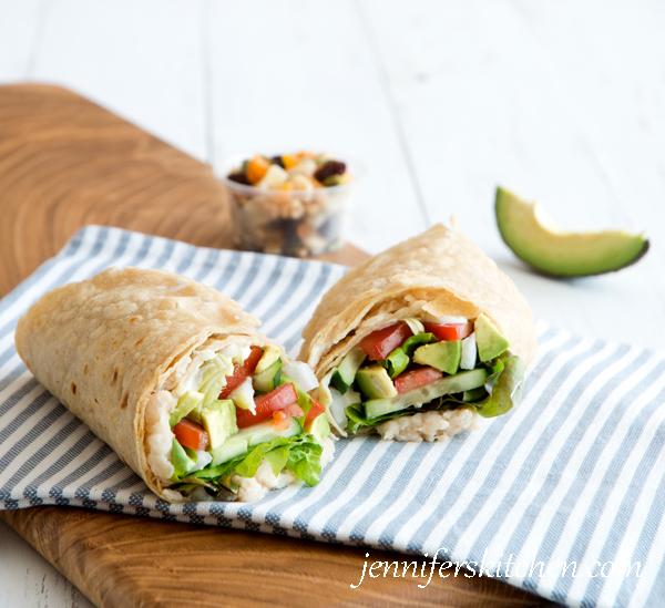 Healthy Mediterranean Wrap Recipe