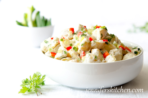 Vegan, Mexican Potato Salad