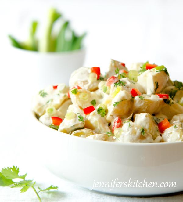 Vegan, Mexican Potato Salad