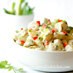 Vegan Mexican Potato Salad