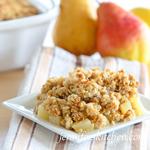 Gluten-Free Pear Crisp