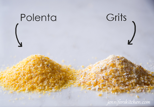 Difference between polenta and grits