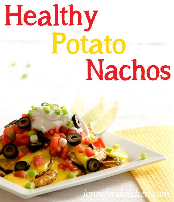 Healthy Vegan Potato Nachos