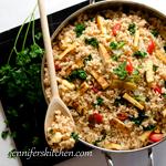 Rice Veggie Tofu Skillet