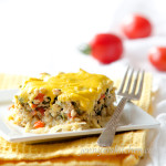 Scrambled Tofu Potato Casserole (or Gluten-Free, Vegan Breakfast Casserole)