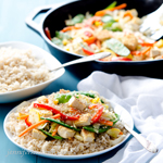 Sesame Stir-Fry (Vegan and Gluten-Free with Soy-Free Option)
