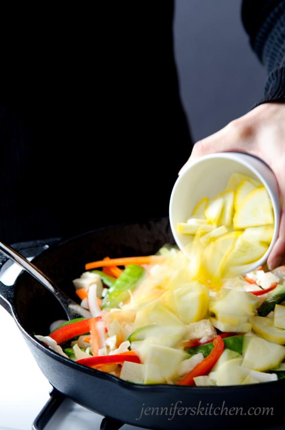 Vegan Stir-Fry - No Soy Sauce