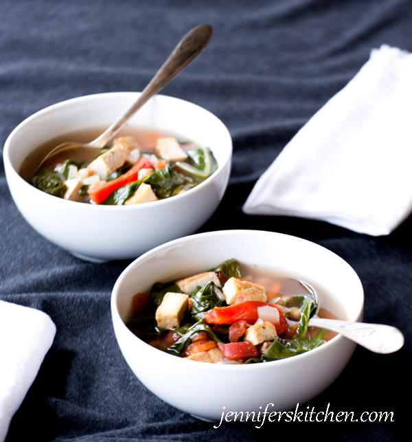 Spinach Soup - Vegan and Gluten-Free