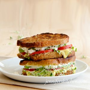 Vegan Sprout Sandwich