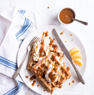 Healthy Waffle and Pancake Syrup