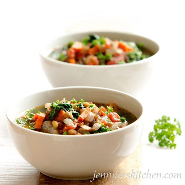 Vegan Winter Lentil Soup