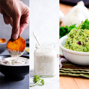 healthy vegan dips