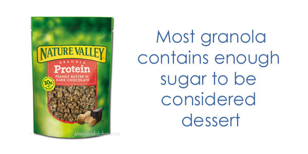 Is granola high in sugar